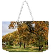 Fall Ave Weekender Tote Bag