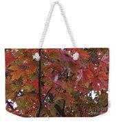 Fall Collage Weekender Tote Bag