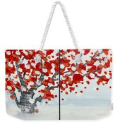 Fall Fall Fall Weekender Tote Bag
