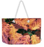 Fall Flames Weekender Tote Bag by Whitney Goodey
