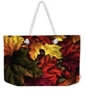 Fall Is On The Ground Weekender Tote Bag