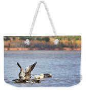 Fall Migration At Whittlesey Creek Weekender Tote Bag