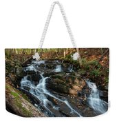 Falling Waters In October Weekender Tote Bag