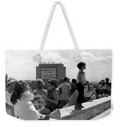 Family Discussion  Weekender Tote Bag