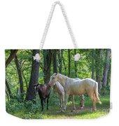 Family Of Horses Weekender Tote Bag