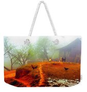 Family On A Hill In Sapa, Vietnam Weekender Tote Bag
