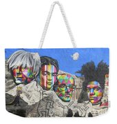 Famous Contemporary Artists Mural Weekender Tote Bag