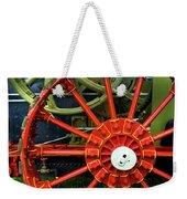 Fancy Tractor Wheel Weekender Tote Bag