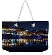 Fantastic Belgrade Night Reflection Weekender Tote Bag