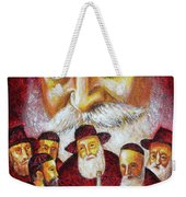 Farbrengen With The Rebbe Weekender Tote Bag