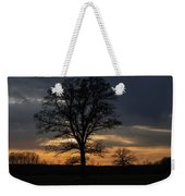 Farm Country Sunset Weekender Tote Bag