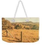 Farm Fields Of Eumundi, Sunshine Coast Weekender Tote Bag