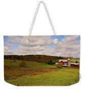 Farmland In Autumn Weekender Tote Bag