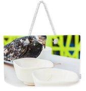 Fast Food Asian Pigeon Weekender Tote Bag