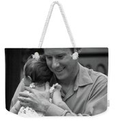 Father And Daughter Weekender Tote Bag by Catherine Sobredo