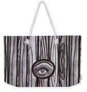 Fear - Eye Through Fence Weekender Tote Bag