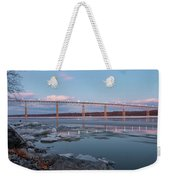 February Evening At Charles Rider Park Weekender Tote Bag
