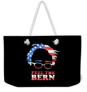 Feel The Bern Patriotic Weekender Tote Bag