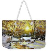 Feerie Winter Weekender Tote Bag
