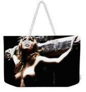 Female Christ Weekender Tote Bag