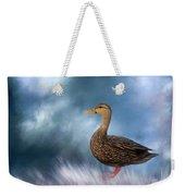 Female Mallard Duck Weekender Tote Bag