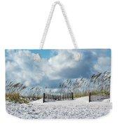 Fences In The Sand Weekender Tote Bag