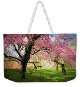 Cherry Orchard Afternoon Weekender Tote Bag