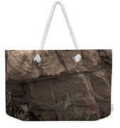 Figurative V Weekender Tote Bag by Catherine Sobredo
