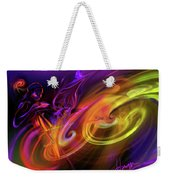 Cellist In Space Weekender Tote Bag