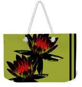 Fire Lilies Weekender Tote Bag