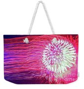 Fireworks In Abstract 2019 Weekender Tote Bag