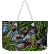 First Frost In Sweden Weekender Tote Bag