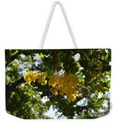 First Golden Leaves Weekender Tote Bag