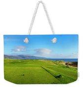 First Tee At Brora Golf Club, Moray Weekender Tote Bag