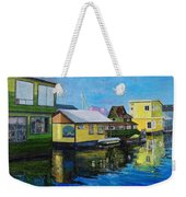 Fisherman's Wharf In Victoria Weekender Tote Bag