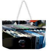 Abstract Fishing   Weekender Tote Bag