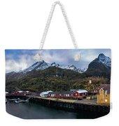 Fishing Village A On Lofoten Weekender Tote Bag