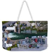 Fishtown Dam Panorama From Above Weekender Tote Bag