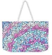 Comfortably Cosmic, In Lavendar Weekender Tote Bag