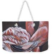 Flamingo Grace Weekender Tote Bag