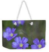 Flax Wildflowers Weekender Tote Bag