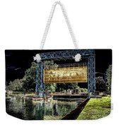 Flood Gate Weekender Tote Bag