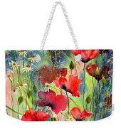 Floral Abracadabra Weekender Tote Bag