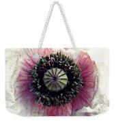 Floral Geometry Weekender Tote Bag