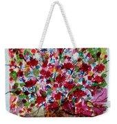 Floral Life Weekender Tote Bag