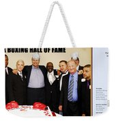 Florida Boxing Hall Of Fame Inaugural Event 2009 Weekender Tote Bag