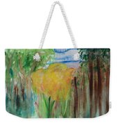 Flowers In A Forest Weekender Tote Bag