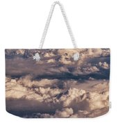Flying Over The Rocky Mountains Weekender Tote Bag