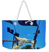 Flying The Pirates Colors Weekender Tote Bag