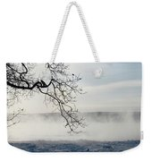 Fog Over The River Weekender Tote Bag